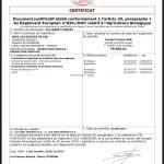 Céline Certificat AB